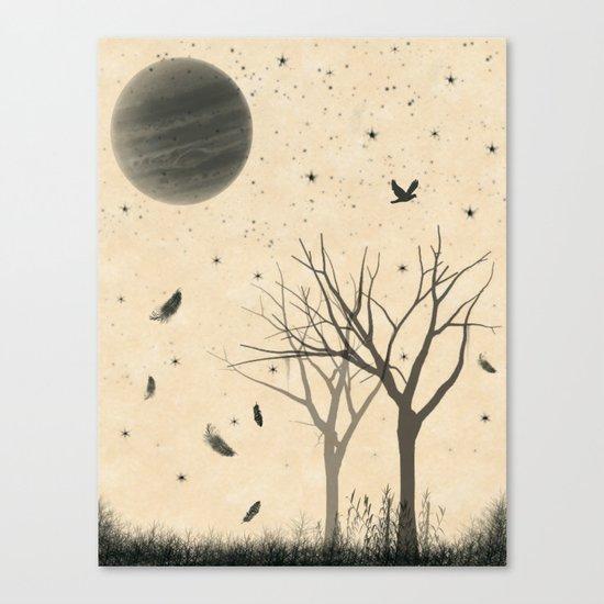 When I dream Canvas Print