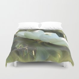 Magnolia Kiss Duvet Cover