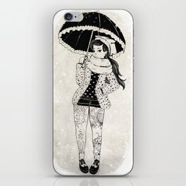 Rock Winter 2 iPhone Skin