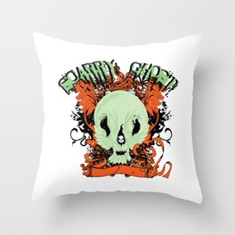 Soarry Ghost Throw Pillow