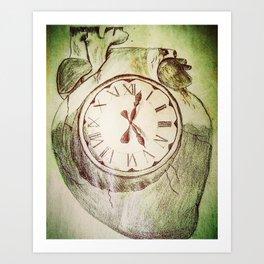 Internal Time Art Print
