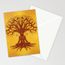 Kalpavriksha - Wishing tree Stationery Cards