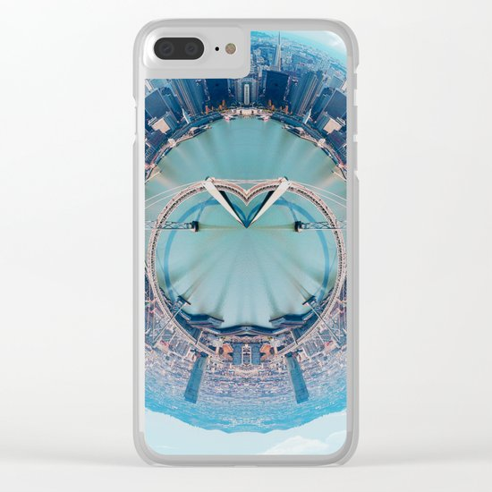 The Heart of San Francisco Clear iPhone Case