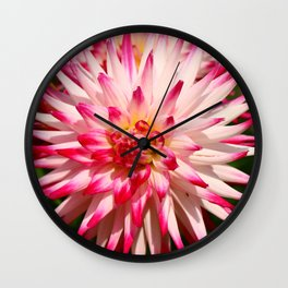 Glowing Beauty Wall Clock