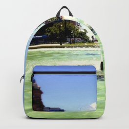 Victoria Square - Adelaide Backpack