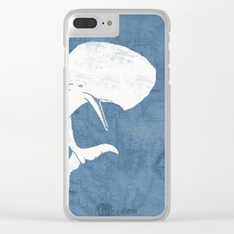 Moby Dick Poster Design Clear iPhone Case