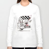 aurora Long Sleeve T-shirts featuring Aurora by Being a Cloud