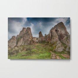 Belogradchik Rocks and Fortress'entrance, Bulgaria Metal Print