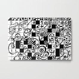 ancient doodle Metal Print