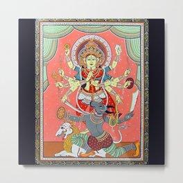 Hindu Durga 5 Metal Print