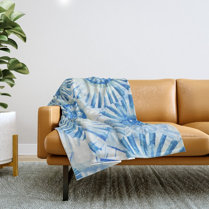 Sea Life Pattern 01 Throw Blanket