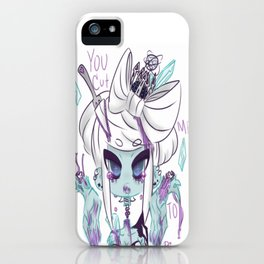 Cut me to pieces iPhone Case