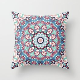 Geometric ornament 19 Throw Pillow
