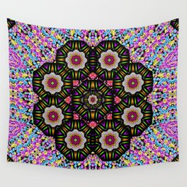 decorative ornate candy with soft candle light for peace Wall Tapestry