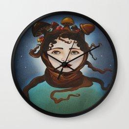MUSHROOM GIRL Wall Clock