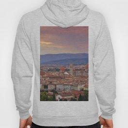 Panorama Florence, Italy. Hoody