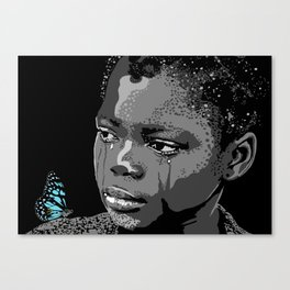 God bless the child 103 Canvas Print