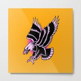 Águila rosa Metal Print