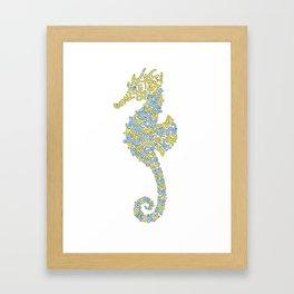 Hippocampe Framed Art Print