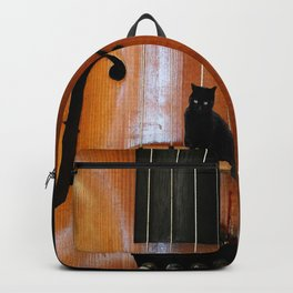 Black Cat And Violin #decor #society6 Backpack