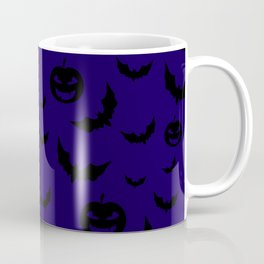 Cute halloween pattern background   #society6 #decor #buyart #artprint Coffee Mug