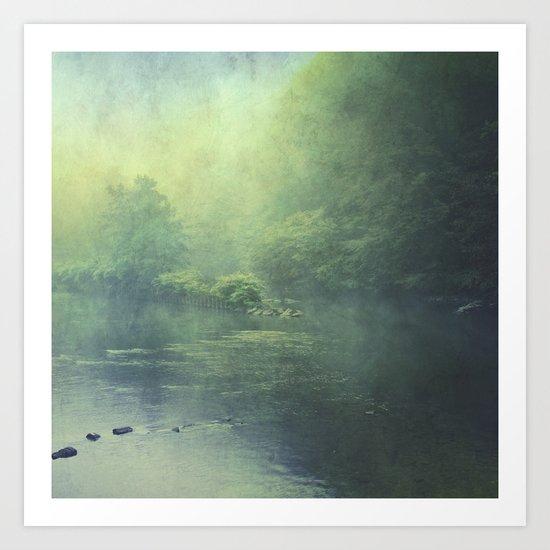 mystic haze Art Print