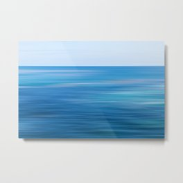 Blue Ocean Dream Metal Print