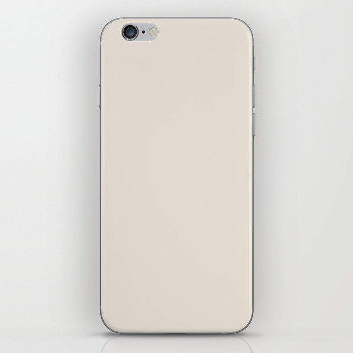 Sherwin Williams Trending Colors of 2019 Porcelain (Off White / Cream / Ivory) SW 0053 Solid Color iPhone Skin