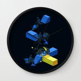 Tron Wall Wall Clock