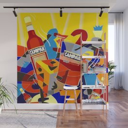 Vintage Cordial Campari Limited Edition Advertisement Poster #6 of 8 originally limited to 70 by Ugo Wall Mural
