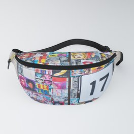 The Secret behind the Door Number 17 of Catania - Sicily Fanny Pack