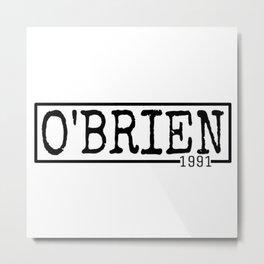 Dylan O'Brien Metal Print
