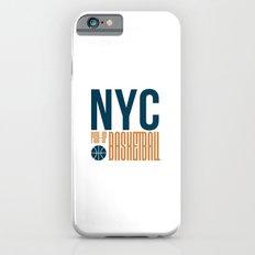 N.Y.C. Pick-Up Basketball iPhone 6s Slim Case