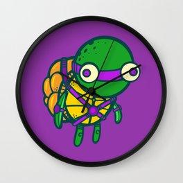 Where's My Weapon - Purple Wall Clock