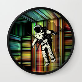 Trapped in Multiple Time Dimension Wall Clock