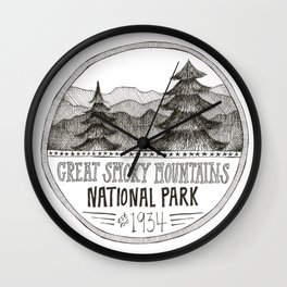 Great Smoky Mountain National Park Wall Clock
