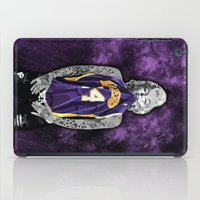 tattoos iPad Cases featuring Marilyn Monroe Los angeles Lakers with tattoos by Three Second