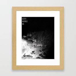 Inspire Me Framed Art Print