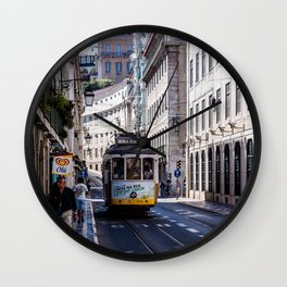 Tram, Lisbon - Portugal Wall Clock