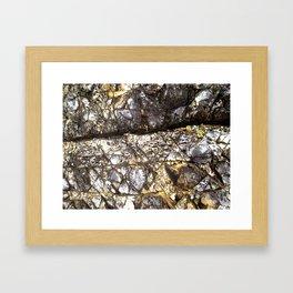 BH Natural Rock Art 3 Framed Art Print
