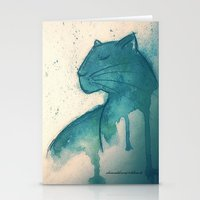 panther Stationery Cards featuring Panther by elisacalderoni92