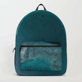 Great Barrier Reef, Australia Travel Artwork Backpack