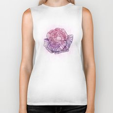 Purple rose Biker Tank