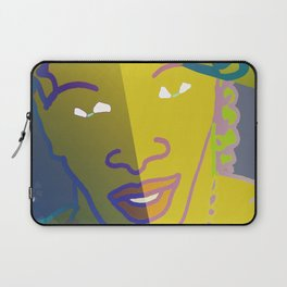 Shaman of the Healing Sounds Laptop Sleeve