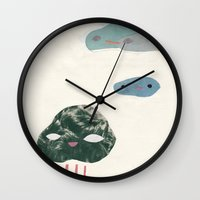 cloudies Wall Clock