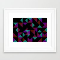 prism Framed Art Prints featuring Prism by Emil Ericsson