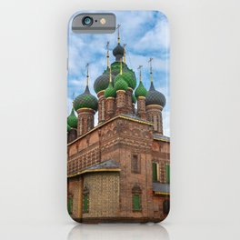 St. John the Baptist Church, Yaroslavl iPhone Case