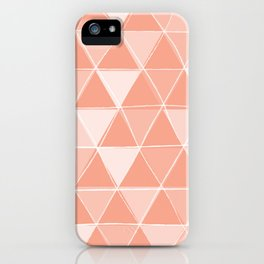 Coral Triangles iPhone Case