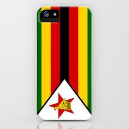 Flag of Zimbabwe iPhone Case