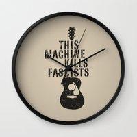 woody Wall Clocks featuring Woody by Skeleton Jack